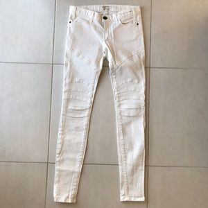 Current Elliott The Moto Skinny Stretch Jeans